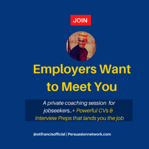 Employers Want to Meet You